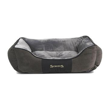 Grey SCRUFFS Chester Dog Bed Extra Large