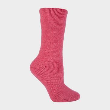 Pink Heat Holders Original Thermal Socks