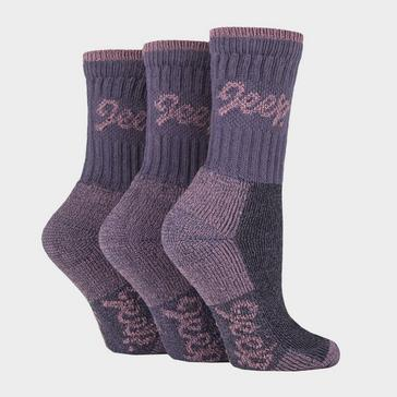PURPLE Jeep Women's Luxury Boot Socks