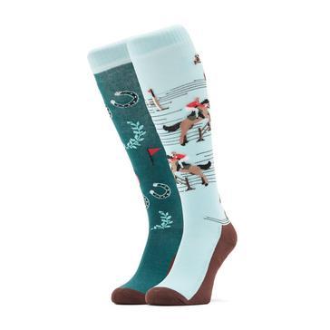 Blue COMODO Kids' Novelty Fun Socks Jumping