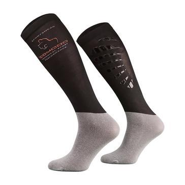 Black COMODO Unisex Silicone Grip Socks