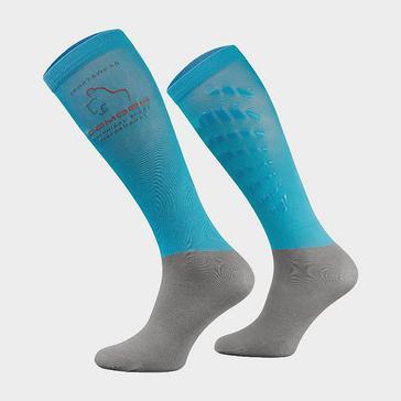BLUE COMODO Unisex Silicone Grip Socks