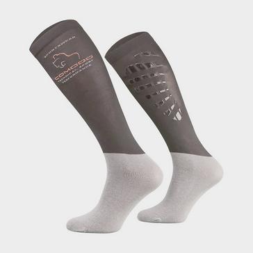 Grey COMODO Kids' Silicone Grip Socks