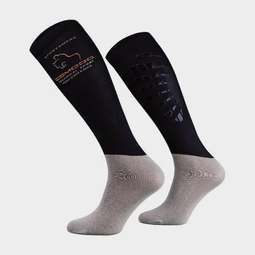 NAVY COMODO Kids' Silicone Grip Socks