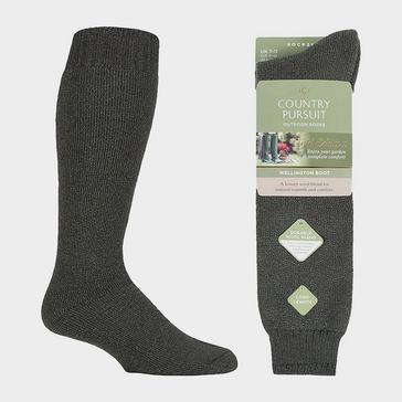 Black COUNTRY PURSUIT Men's Wellington Boot Socks