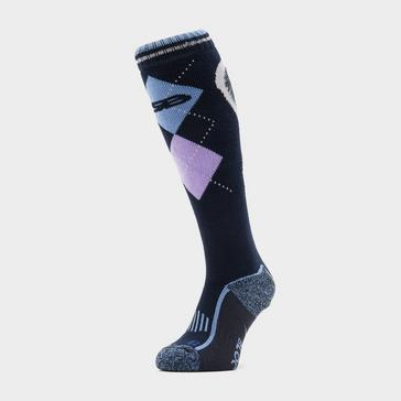 Navy STORM BLOC Women's Patterdale Long Socks