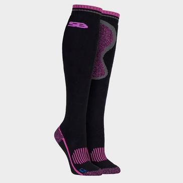 Black STORM BLOC Women's Calderbeck Long Socks