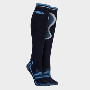 Navy STORM BLOC Women's Calderbeck Long Socks