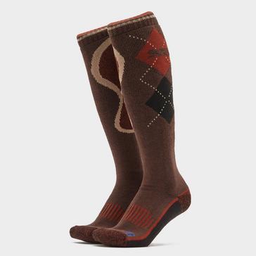 Brown STORM BLOC Men's Patterdale Long Socks