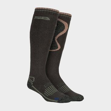 Green STORM BLOC Men's Calderbeck Long Socks