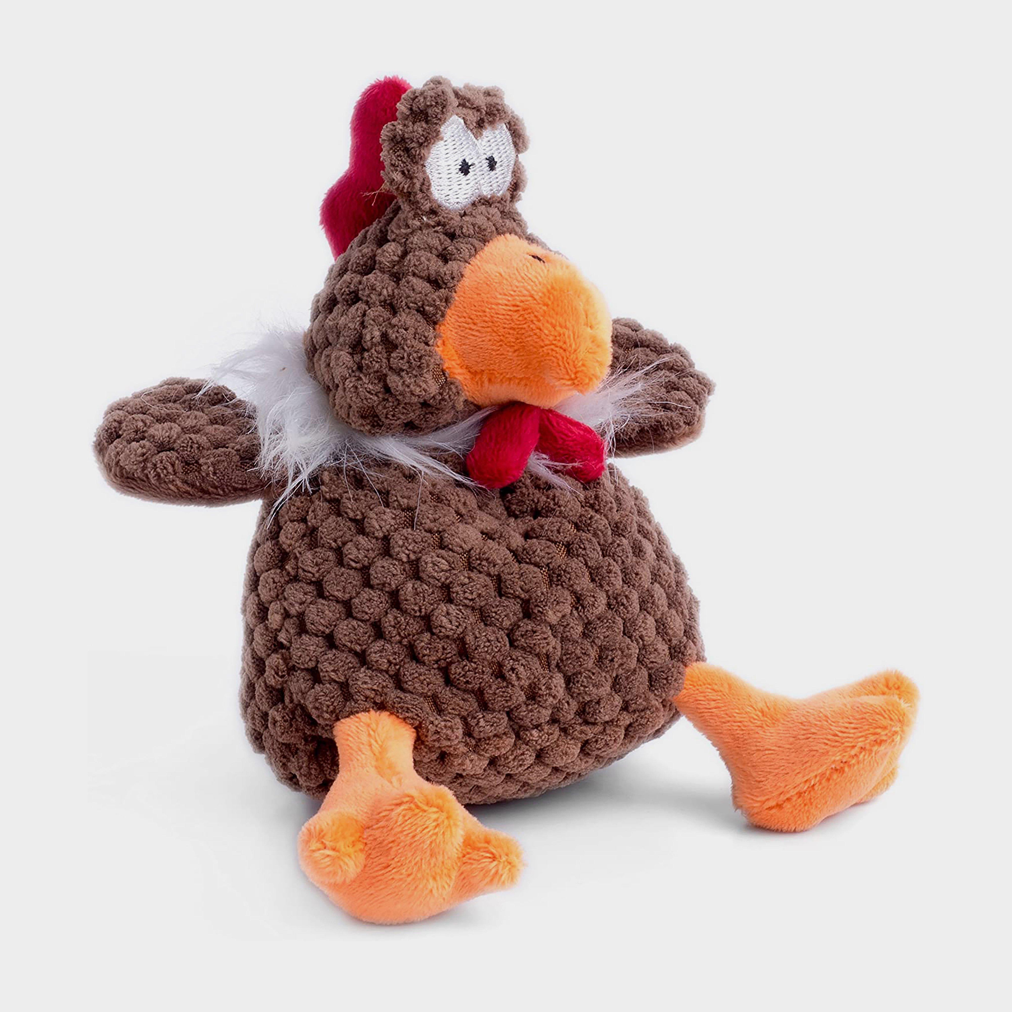 Image of Petface Farmyard Buddies Mini Chicken - Brown/Brown, BROWN/BROWN