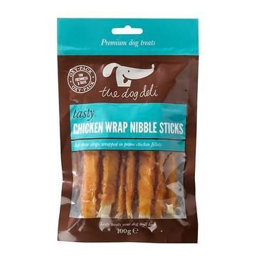 Assorted PETFACE Deli Dog Chicken Wrap Nibble Sticks