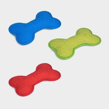 BLUE PETFACE Textured Toys Squeak Bone