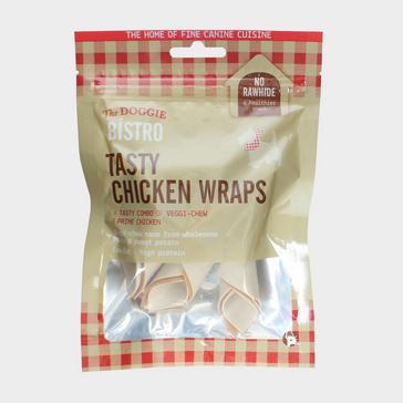 Brown PETFACE Doggie Bistro Tasty Chicken Wraps 5 Pack