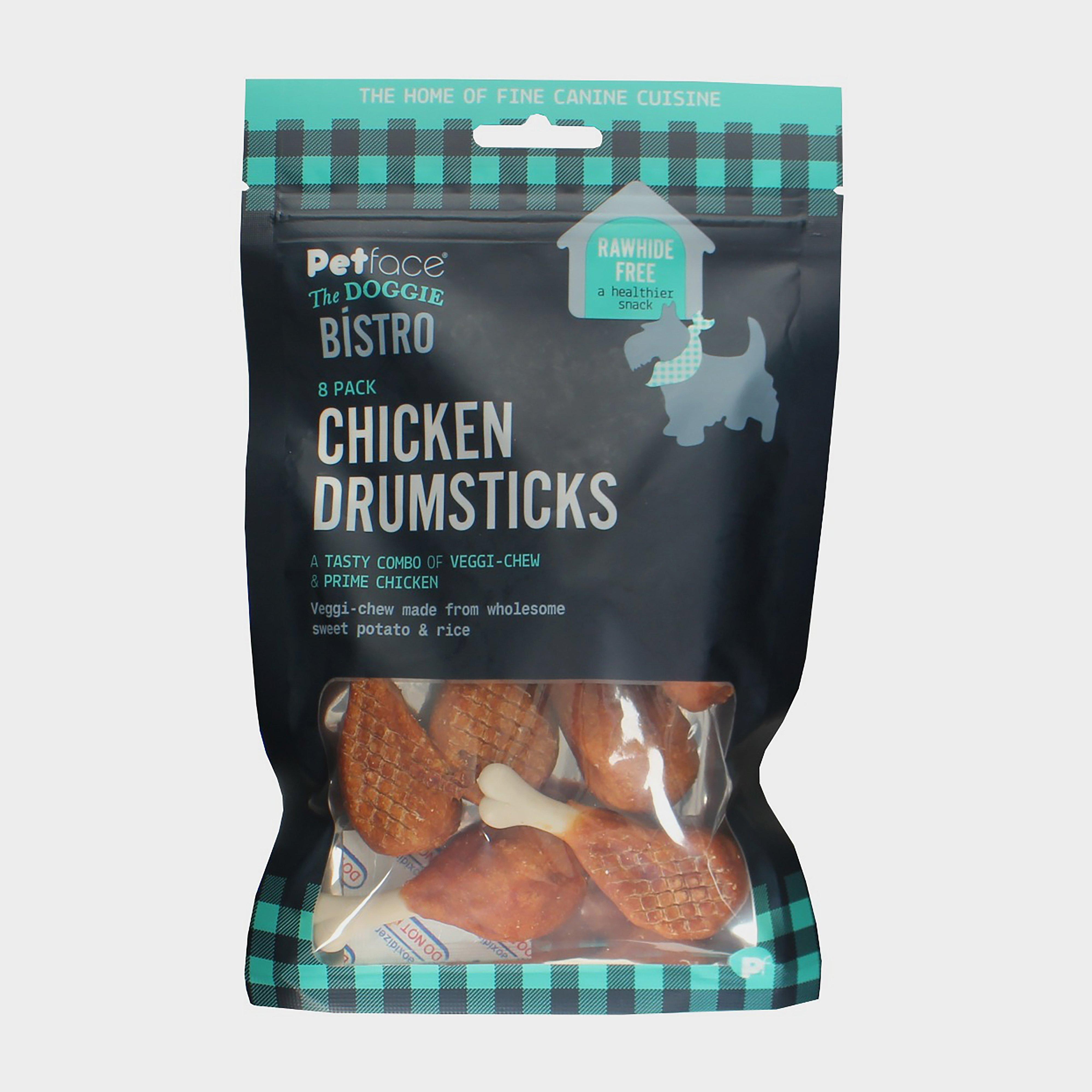 Image of Petface Dog Bistro Mini Chicken Drumsticks - Brown/Brown, BROWN/BROWN