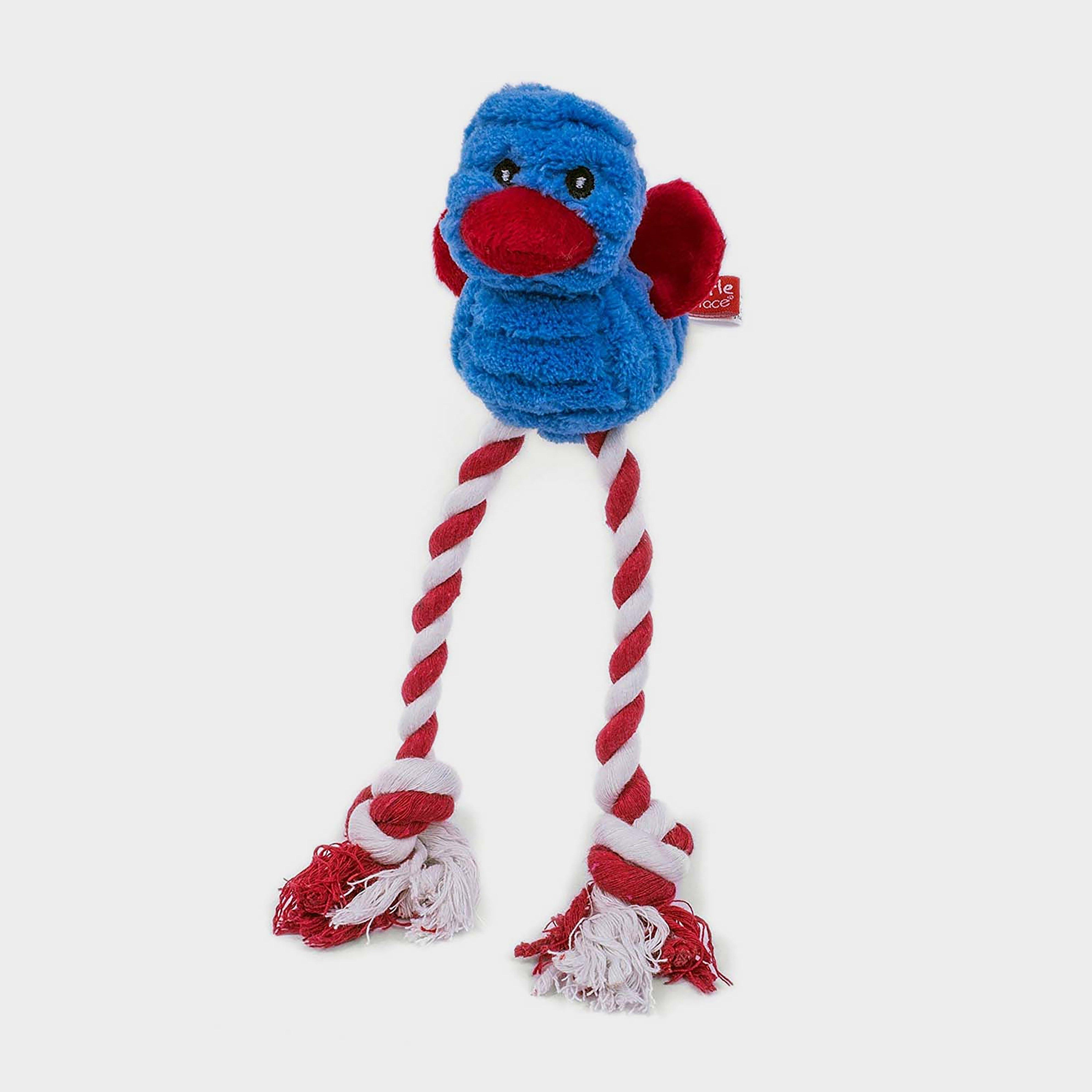 Image of Petface Cord Long Legs Dog Toy - Blue/Blue, Blue/Blue