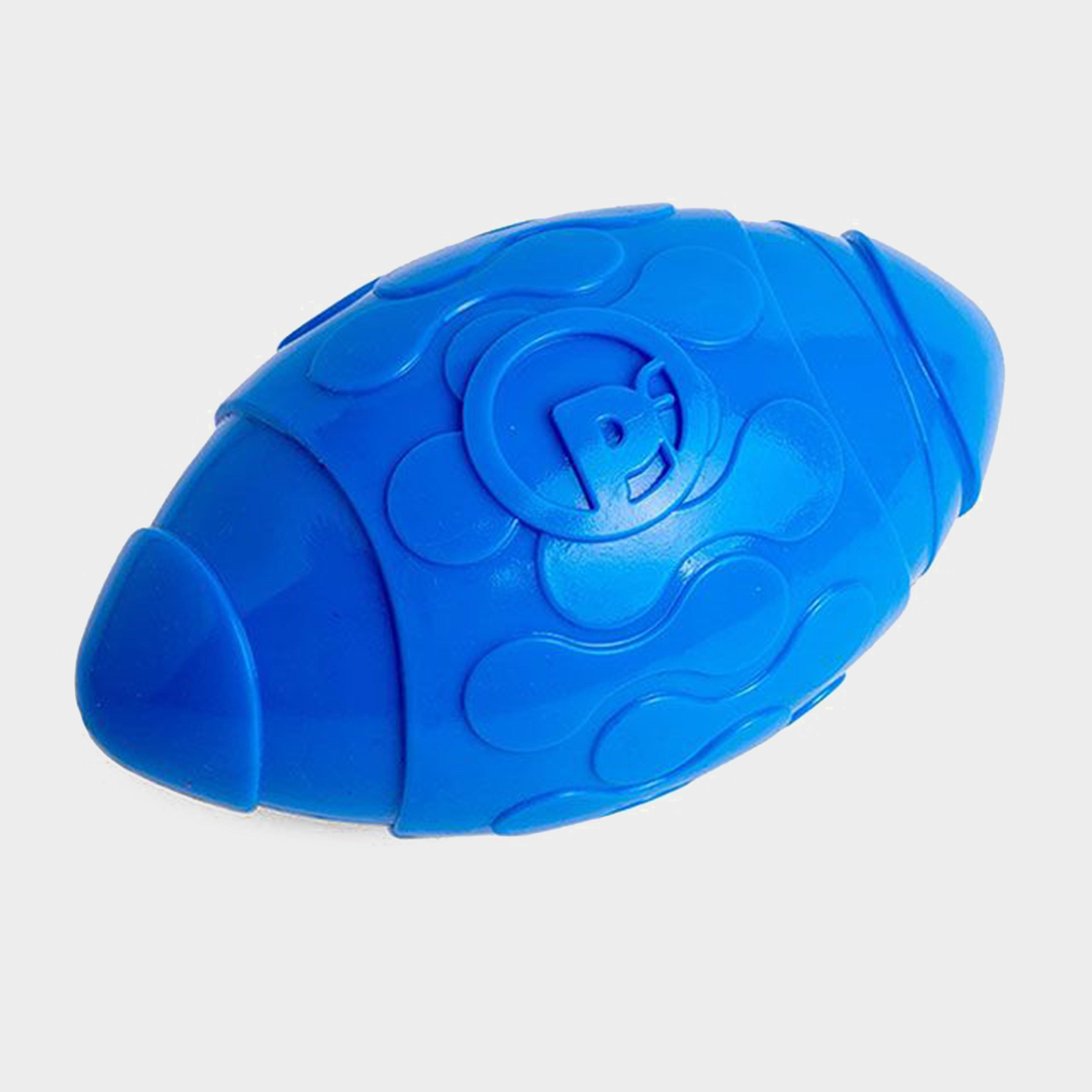 Image of Petface Toyz Rugby Ball - Blue/Blue, Blue/Blue