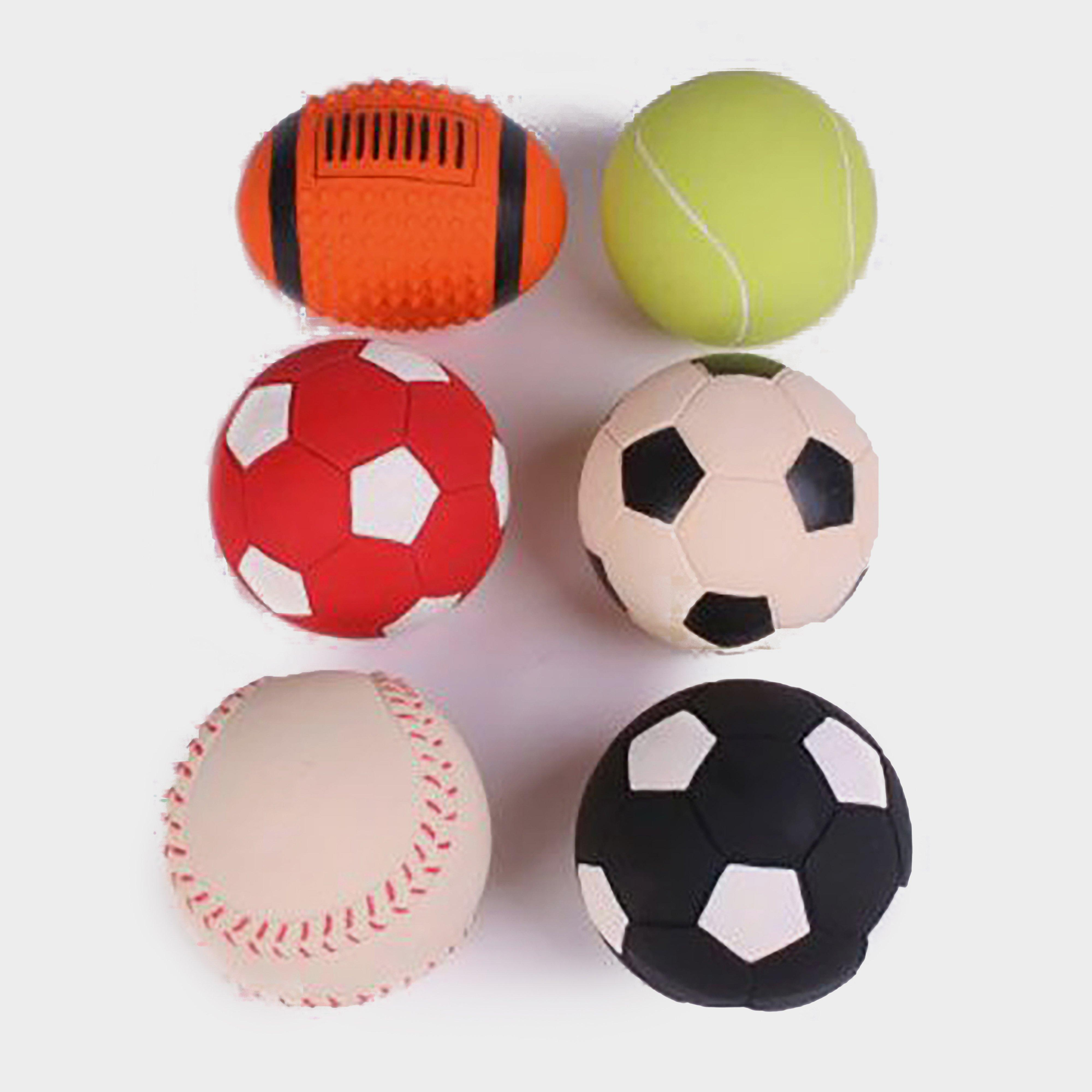 Image of Petface Assorted Latex Balls - Multi/Multi, MULTI/MULTI