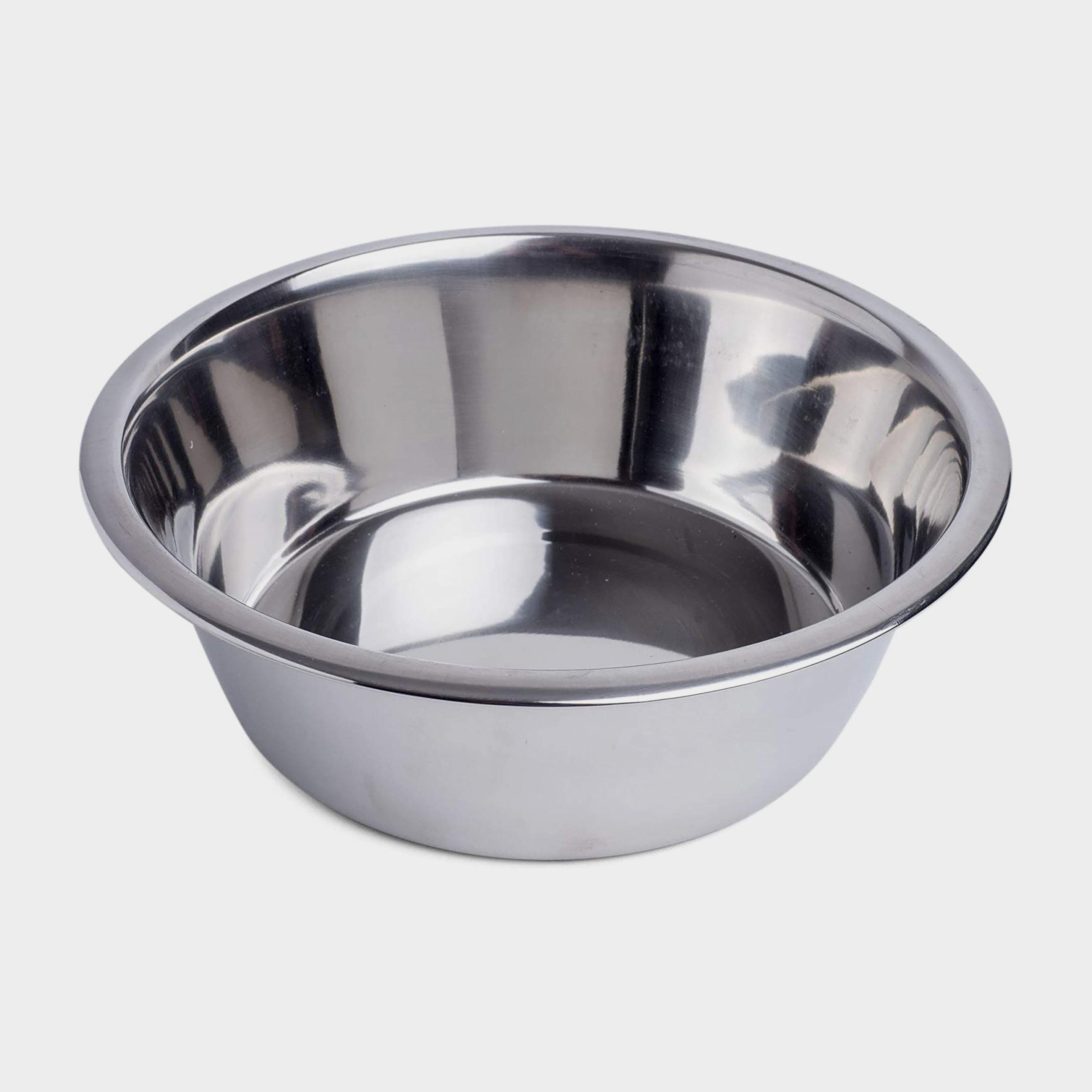 Image of Petface Stainless Steel Bowl - Silver/Silver, SILVER/SILVER