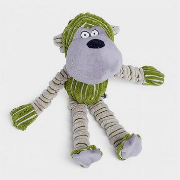 Green PETFACE Chubby Chimp Toy