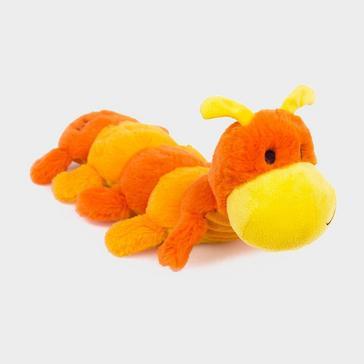 Orange PETFACE Farmyard Buddies Caterpillar Toy