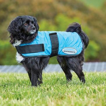 Blue WEATHERBEETA Therapy-Tec Cooling Dog Coat