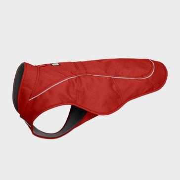 Red Ruffwear Overcoat Dog Jacket