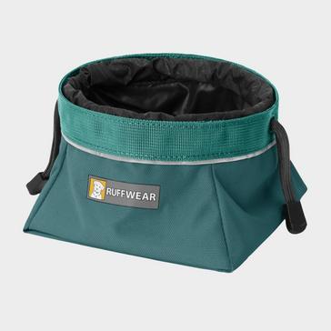 Blue Ruffwear Quencher Cinch Top Packable Dog Bowl