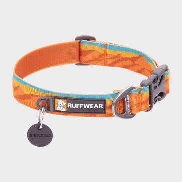 Orange Ruffwear Flat Out Dog Collar