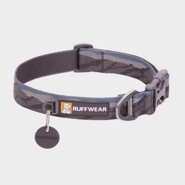 Grey Ruffwear Flat Out Dog Collar