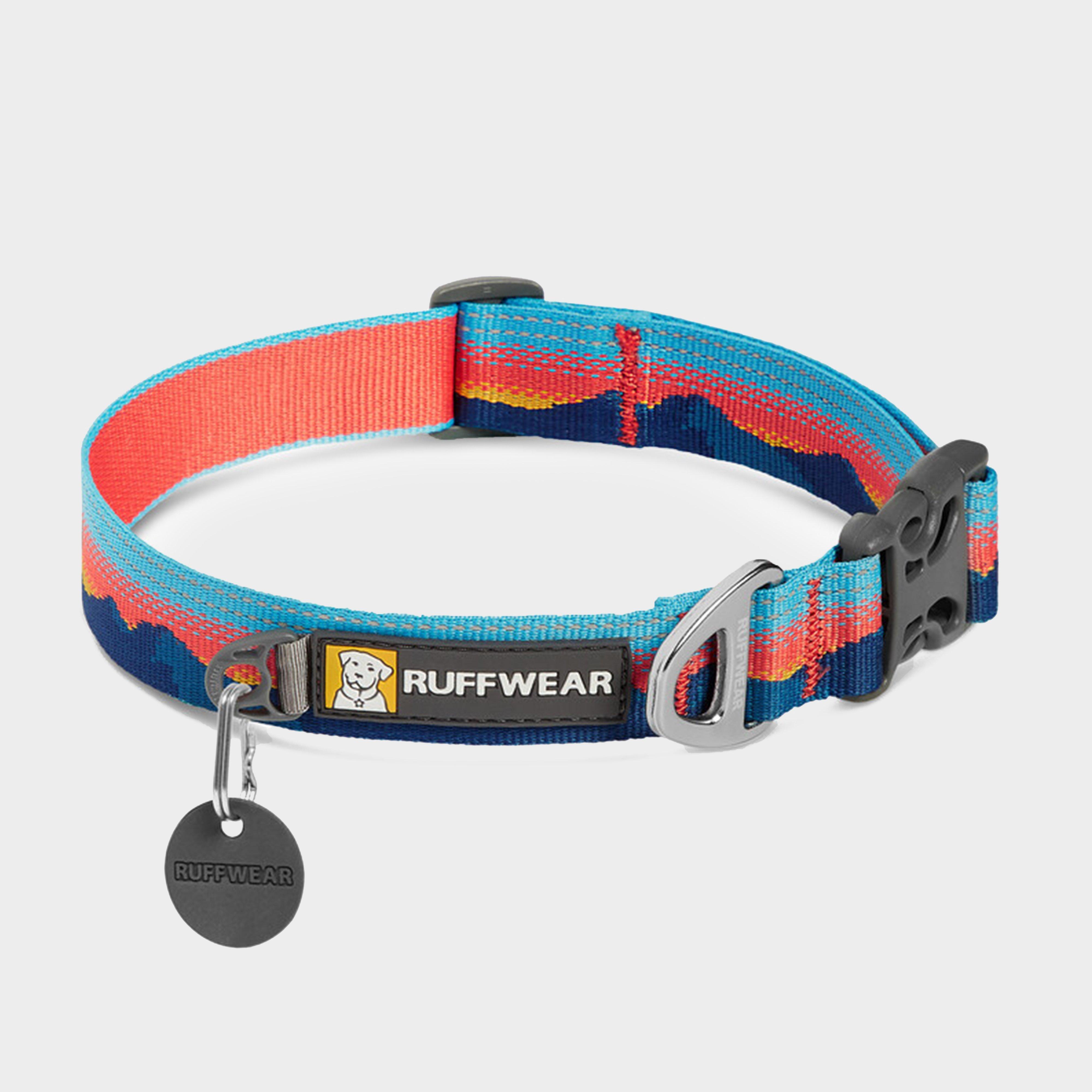 Image of Ruffwear Crag Reflective Dog Collar - Multicolour/Multicolour, multicolour/Multicolour