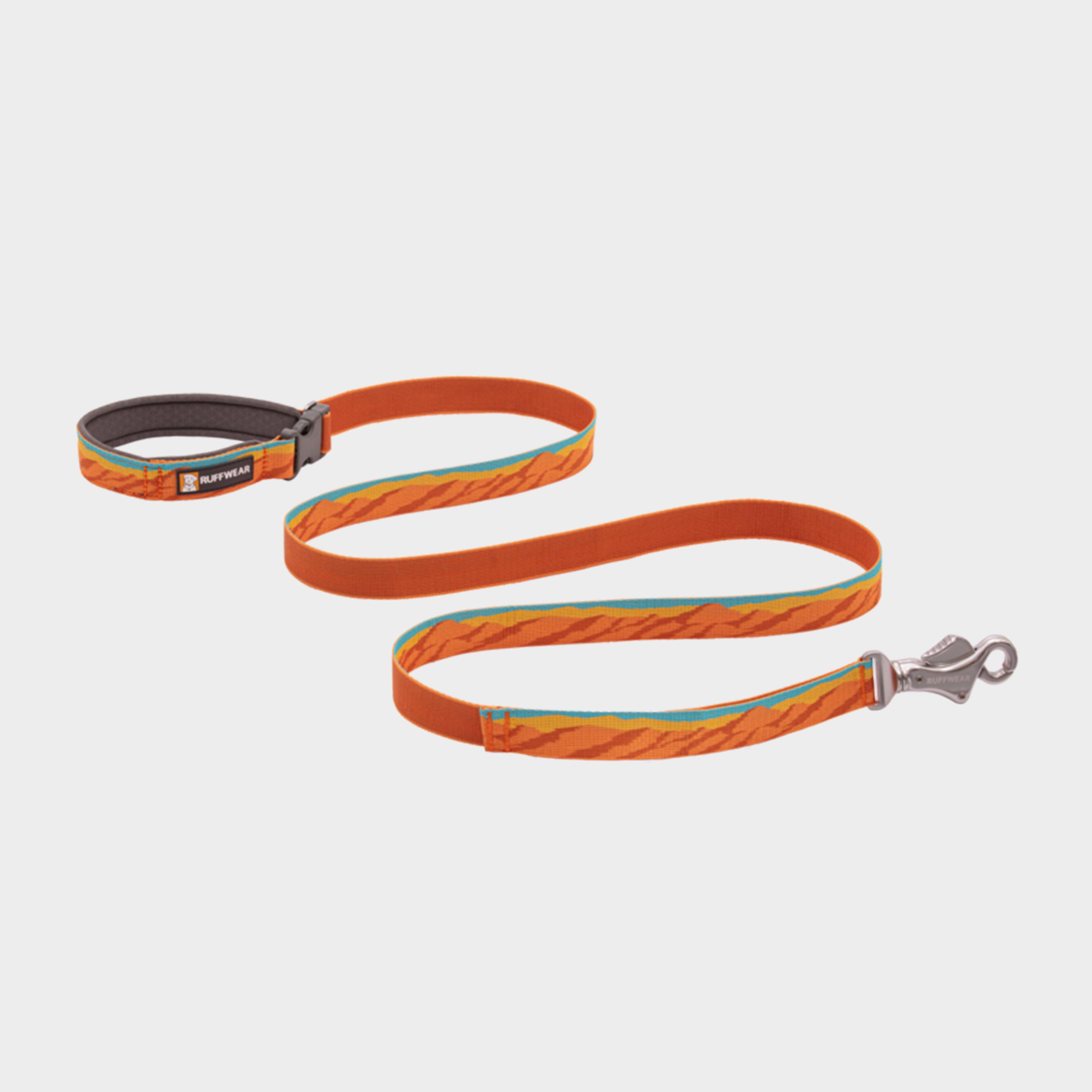 Image of Ruffwear Flat Out Adjustable Dog Lead - Orange/Fall, Orange/FALL