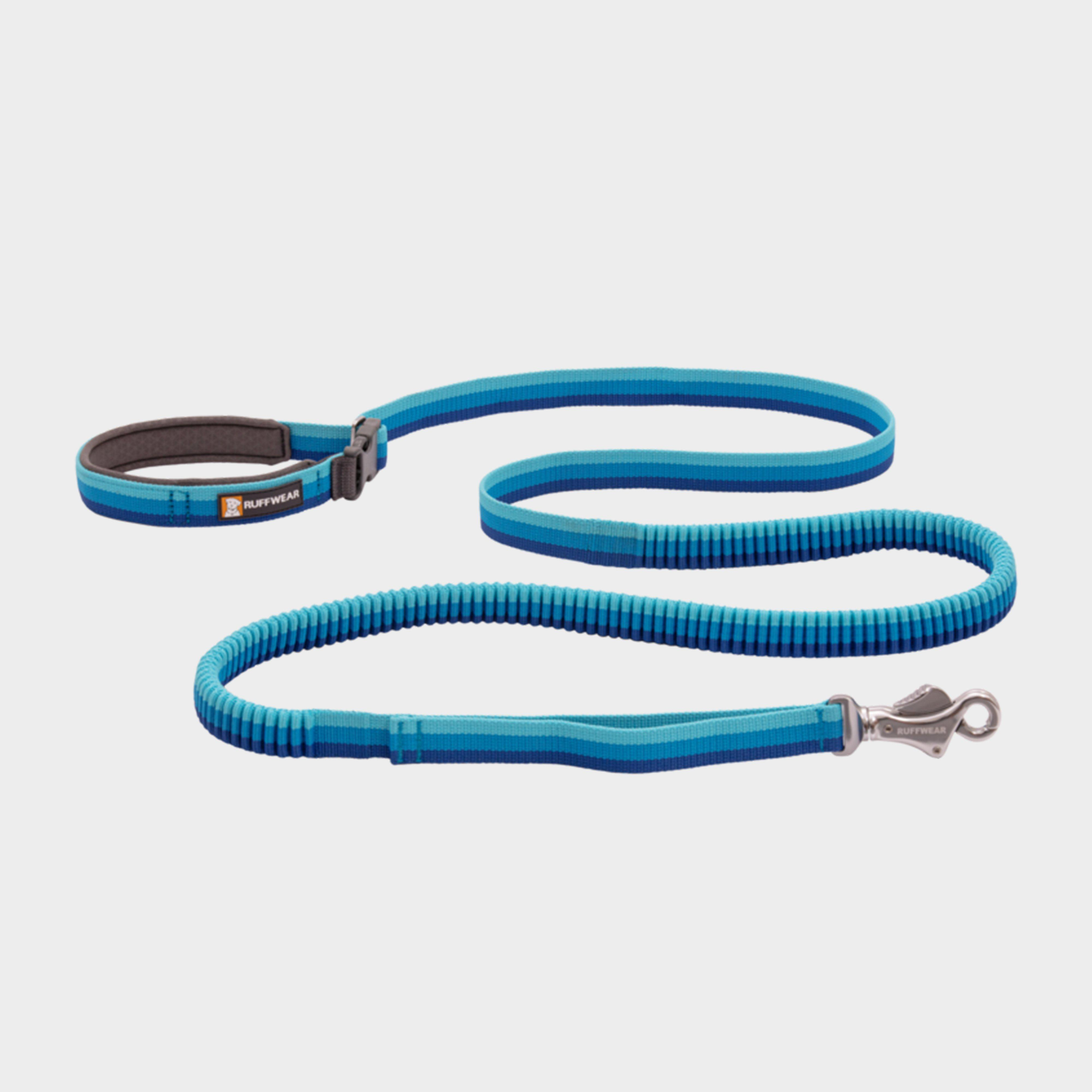 Image of Ruffwear Roamer Bungee Dog Leash - Blue/Blue, Blue/Blue