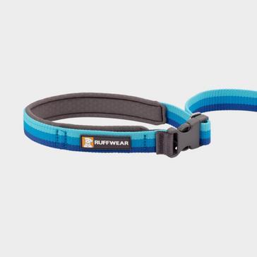 blue Ruffwear Roamer Bungee Dog Leash