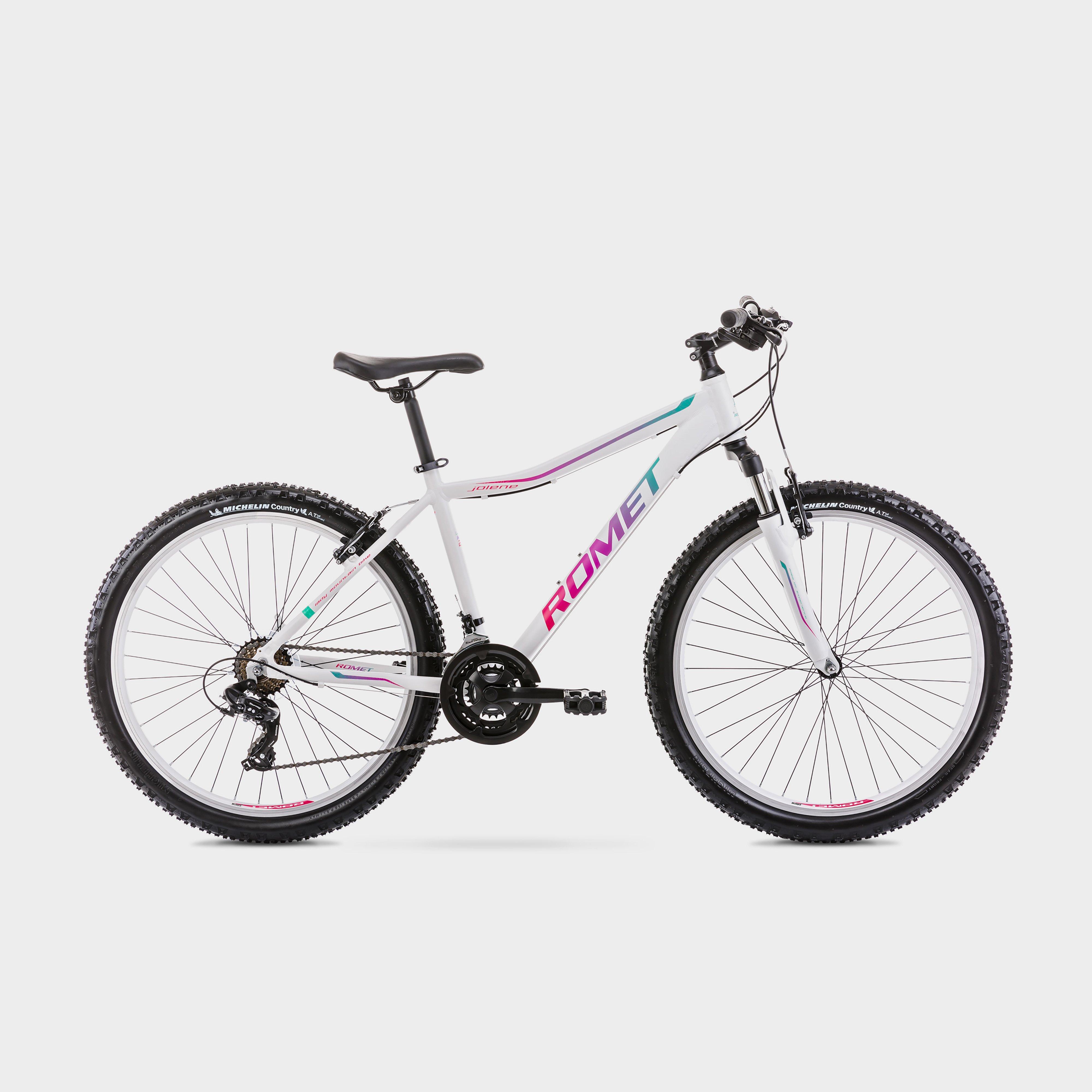 Romet Jolene 6.1 Mountain Bike - White/White, White