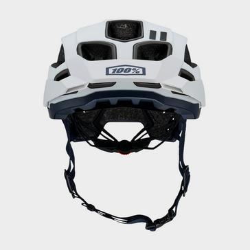 WHITE 100% Altec Helmet