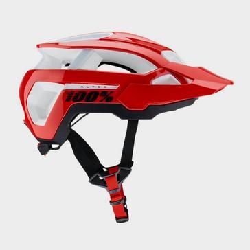 RED 100% Altec Helmet