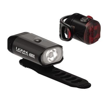 Black Lezyne Mini Drive 400XL Pair Bike Light