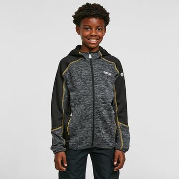 Grey Regatta Kids' Dissolver III Hooded Fleece