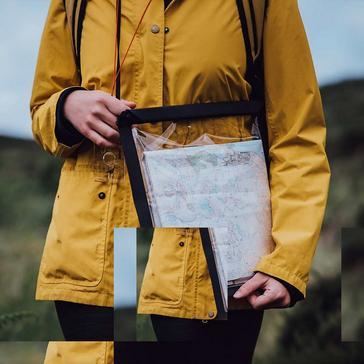 Grey LIFEVENTURE Waterproof Map Case