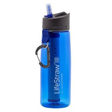 Blue Lifestraw Go Water Filter Bottle 650ml