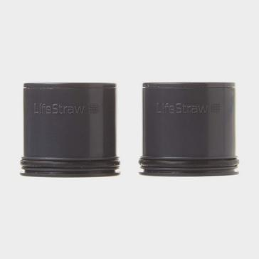Black Lifestraw Carbon Filter Capsule (Replacement) - Pack of 2