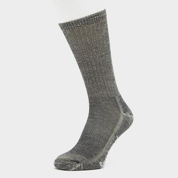 Grey Smartwool Hike Classic Edition Light Cushion Crew Socks