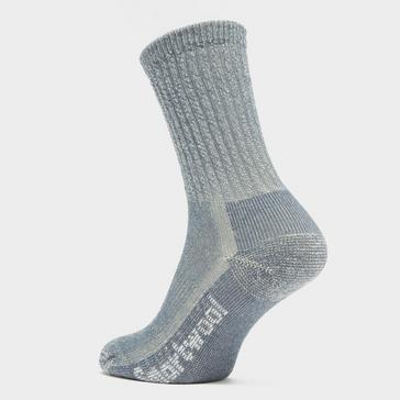 Blue Smartwool Women's Hike Classic Edition Light Cushion Crew Socks