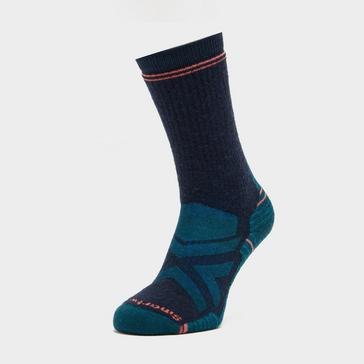 Blue Smartwool Women's Hike Full Cushion Crew Socks