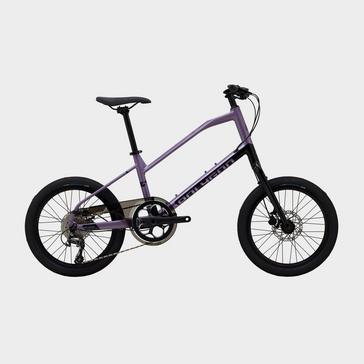 Purple POLYGON Zeta Compact Urban Bike