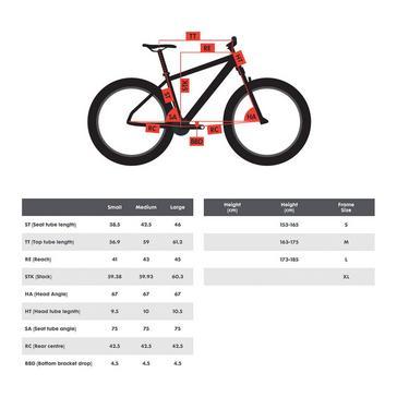 "Green POLYGON Xtrada 7 27.5"" Mountain Bike"