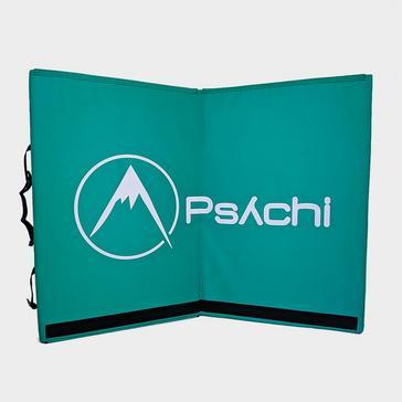 Green PSYCHI Quake Dual-Fold Bouldering Pad