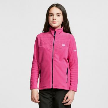 Pink Regatta Kids' Inherit Zip Through Fleece