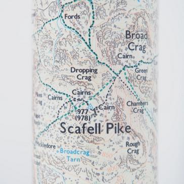 White Ordnance Survey Scafell Thermal Bottle